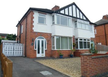 Thumbnail 3 bed semi-detached house for sale in Sandon Road, Grantham