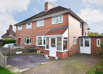 Thumbnail 3 bed detached house for sale in The Crescent, Eccleshall, Staffordshire
