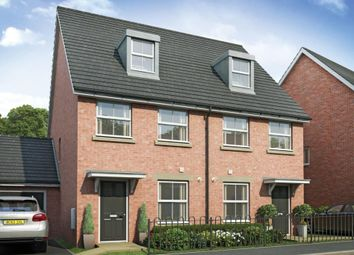 "Thumbnail 3 bed end terrace house for sale in ""The Ashton - Plot 140"" at Roving Close, Andover"