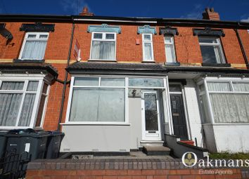 Thumbnail 3 bedroom terraced house for sale in Warwards Lane, Birmingham, West Midlands.