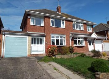 Thumbnail 3 bed semi-detached house for sale in Quarry Close, Walsall, West Midlands