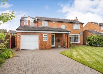 Thumbnail 4 bed detached house for sale in Newfield Drive, Carlisle