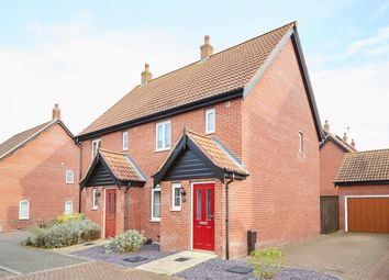 Thumbnail 2 bedroom semi-detached house to rent in Proudfoot Way, Aylsham