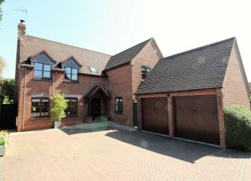 Thumbnail 5 bed detached house for sale in Weavers Close, Redditch