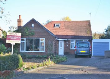 Thumbnail 3 bed bungalow for sale in Churchill Close, Ashby De La Zouch