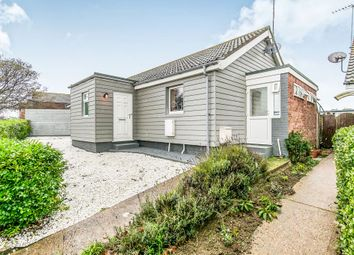Thumbnail 4 bed detached bungalow for sale in Roman Way, Old Felixstowe, Felixstowe