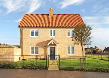 Thumbnail 3 bed link-detached house for sale in Mentmore Way, Poringland, Norwich, Norfolk