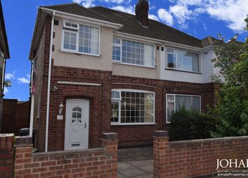 Thumbnail 3 bedroom semi-detached house to rent in Wiltshire Road, Leicestershire