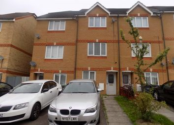 Thumbnail 4 bed terraced house to rent in Dunraven Avenue, Luton