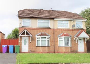Thumbnail 3 bed property for sale in Browning Road, Reddish, Stockport