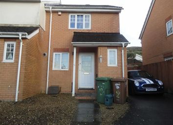 Thumbnail 2 bed semi-detached house to rent in Heol Ysgubor, Caerphilly