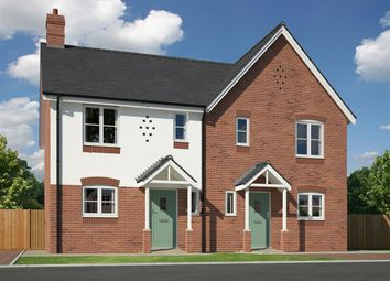 Thumbnail 3 bed semi-detached house for sale in Plot 19 Morris Close, Condover