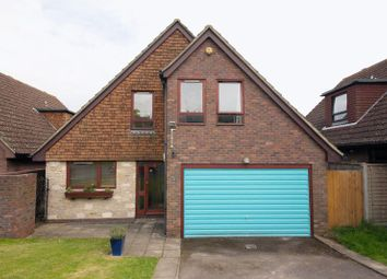 Thumbnail 3 bed detached house for sale in Cheviot Close, Worthing