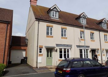 Thumbnail 4 bed end terrace house to rent in Coker Way, Chard