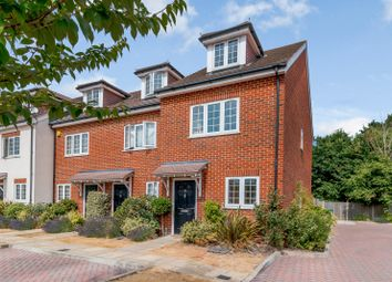 Thumbnail 3 bed end terrace house to rent in Foxleigh Grange, Bisley, Woking