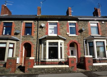 Thumbnail 4 bed terraced house for sale in Standard Street, Trethomas, Caerphilly