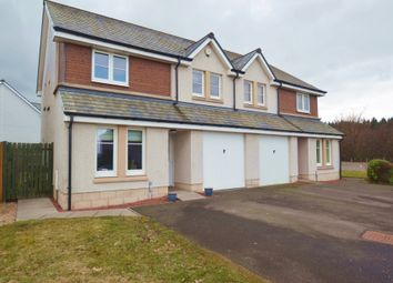 Thumbnail 4 bed semi-detached house for sale in Wordie Road, Stirling