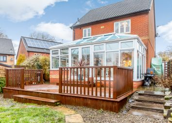 Thumbnail 3 bed detached house for sale in Chestnut Crescent, Barrow, Clitheroe