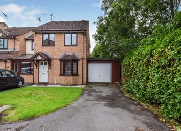 Thumbnail 3 bedroom end terrace house for sale in Braymish Close, Kibworth Harcourt, Leicester
