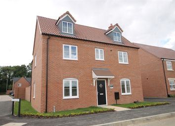 Thumbnail 4 bed detached house for sale in The Heights, Newark, Nottinghamshire.