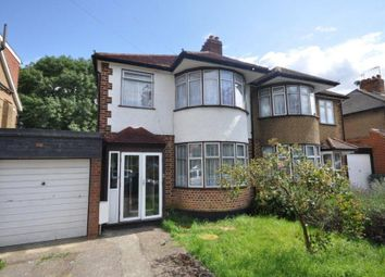 Thumbnail 3 bed semi-detached house to rent in Durley Avenue, Pinner, Middlesex