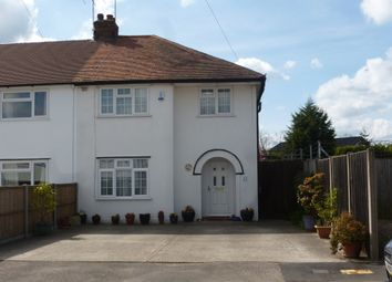 Thumbnail 3 bedroom semi-detached house for sale in Bowyer Drive, Burnham, Slough