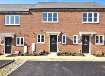 Thumbnail 2 bed terraced house to rent in Mespilus View, Wellingborough