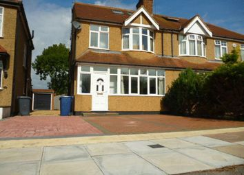 Thumbnail 4 bed semi-detached house for sale in West Way, Edgware