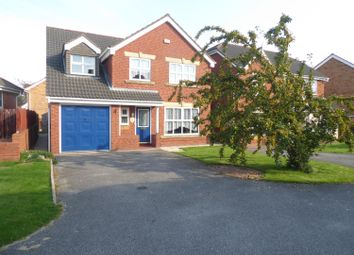 Thumbnail 5 bed detached house for sale in Wren Crescent, Scartho Top, Grimsby