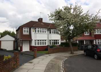 Thumbnail 1 bed flat to rent in Wycherley Crescent, New Barnet, Barnet