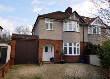 Thumbnail 4 bed semi-detached house for sale in Kinross Avenue, Worcester Park