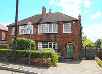 Thumbnail 3 bed semi-detached house for sale in Eureka Road, Midway, Swadlincote