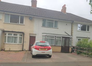 Thumbnail 3 bed terraced house to rent in Picton Grove, Birmingham