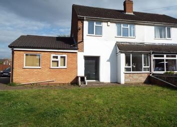 Thumbnail 3 bed semi-detached house for sale in Burntwood Road, Norton Canes, Cannock, Staffordshire