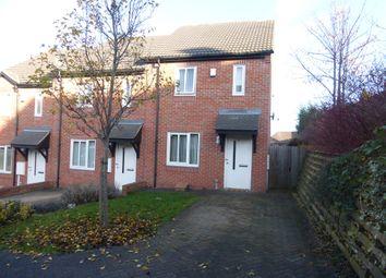 Thumbnail 2 bedroom end terrace house for sale in Portway Close, Frecheville, Sheffield