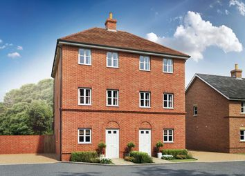 Thumbnail 4 bed town house for sale in Oakham Park, Old Wokingham Road, Crowthorne, Berkshire