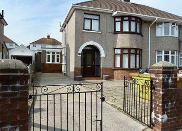 Thumbnail 3 bed semi-detached house to rent in Moorlands Road, Bridgend