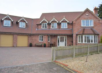 Thumbnail 5 bedroom detached house for sale in The Briars, Broughton, Brigg