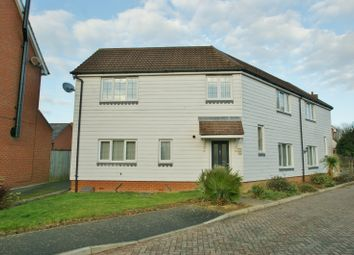 Thumbnail 4 bedroom semi-detached house for sale in Richborough Way, Kingsnorth, Ashford