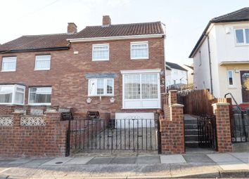 Thumbnail 3 bedroom semi-detached house for sale in Wishaw Rise, Newcastle Upon Tyne