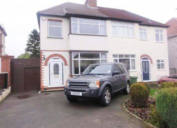 Thumbnail 3 bed semi-detached house to rent in Lynton Avenue, Tettenhall, Wolverhampton