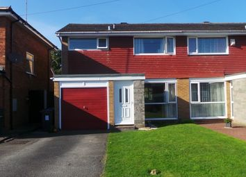 Thumbnail Semi-detached house for sale in Webster Close, Sutton Coldfield