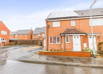 Thumbnail 3 bed semi-detached house for sale in Nuthatch Close, Corby, Northamptonshire, England