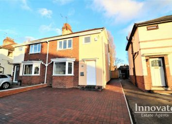 Thumbnail 3 bed semi-detached house for sale in Sandwell Avenue, Darlaston, Wednesbury