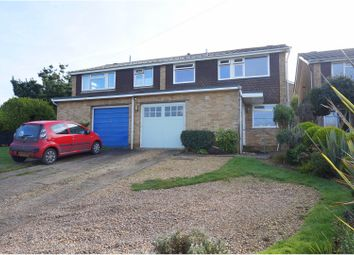 Thumbnail 3 bed semi-detached house for sale in Whitby Road, Lymington