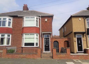 Thumbnail 2 bed semi-detached house to rent in Alwyn Road, Darlington