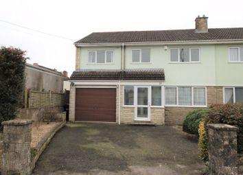 Thumbnail 5 bed semi-detached house for sale in Greenlands Road, Peasedown St. John, Bath