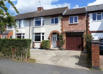 Thumbnail 4 bed semi-detached house for sale in Fareham Avenue, Hillmorton, Rugby