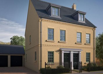 "Thumbnail 3 bed semi-detached house for sale in ""The Greetham"" at Iowa Road, Alconbury, Huntingdon"
