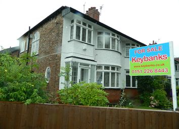 Thumbnail 3 bed semi-detached house for sale in 126 Leyfield Road, West Derby